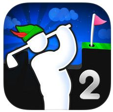 Physik-Golfspiel Super Stickman Golf 2 bis heute Abend kostenlos für iPhone, iPod Touch und iPad