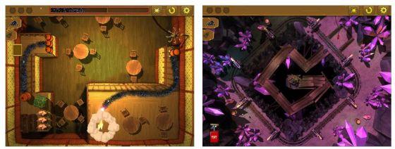 Im Spiel Gunpowder kommt es darauf an, mit möglichst wenig Schießpulver den Weg zu den Tresoren zu überbrücken und diese zu sprengen.