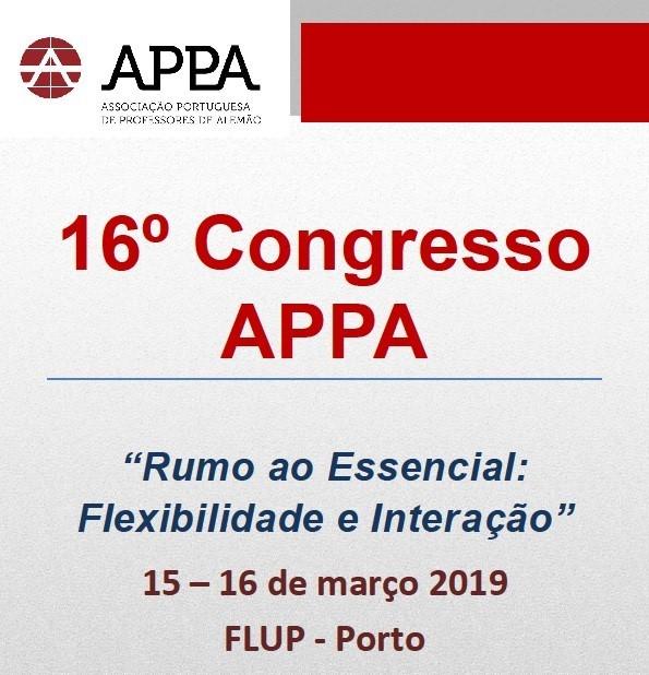 16º Congresso Nacional APPA