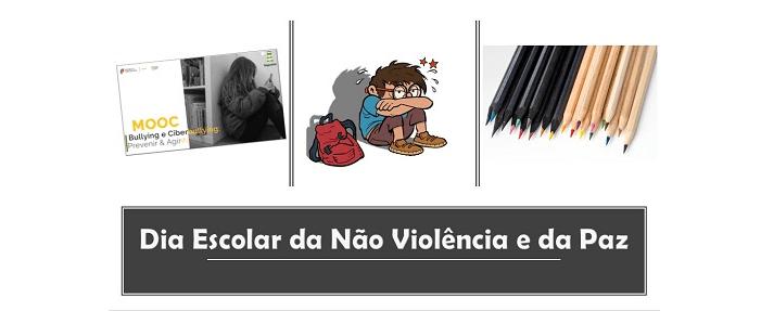 dia escolar Não Violência e Paz