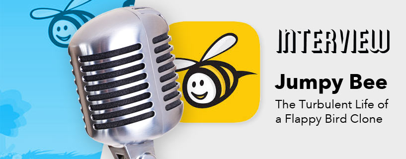 Jumpy Bee Developer Interview – The Turbulent Life of a Flappy Bird Clone