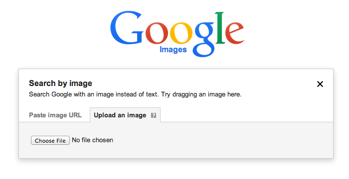 Google Image Search Upload File
