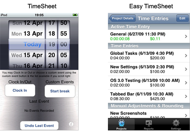 Battleapp Timesheets made easy! - Appbite