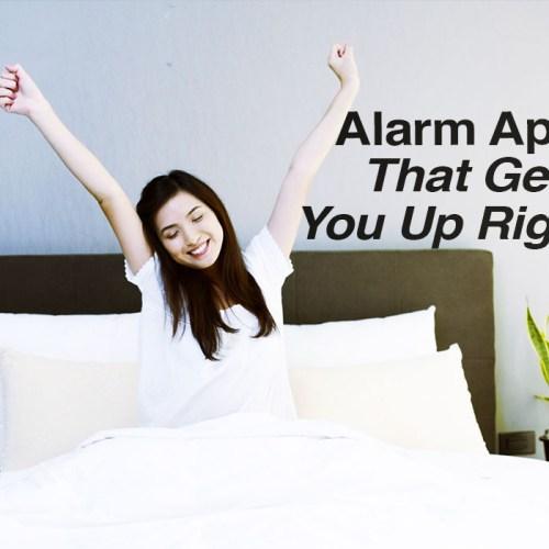 Alarm apps