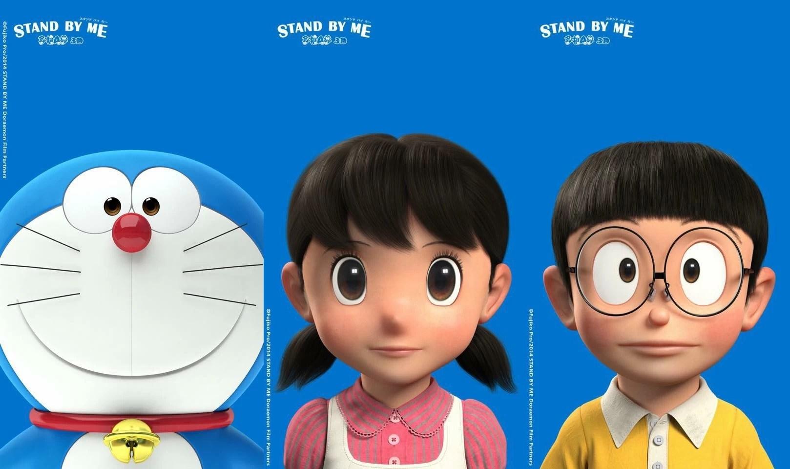 Nobita 3d Wallpaper แจก Wallpaper สุดสวย Stand By Me Doraemon โดราเอมอน
