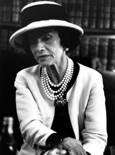 Coco Chanel Photo via Vogue UK