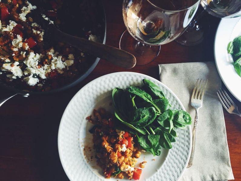 appeasing-a-food-geek-chevre-chorizo-dinner-3