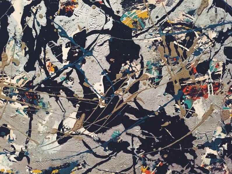 A portion of Jackson Pollock, Number 10 (1949)