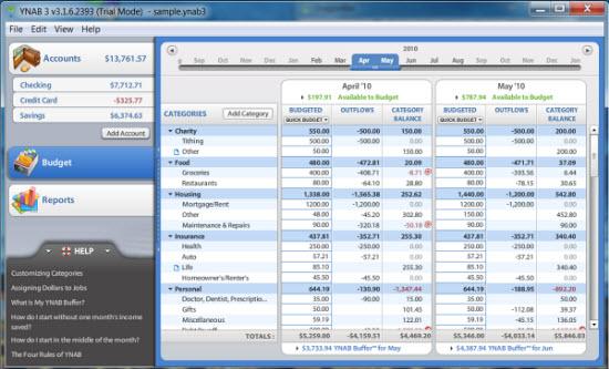 personal finance budget software - Romeolandinez