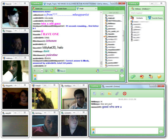 Free Video Web Chat with CamFrog - AppGinger - live video chat room