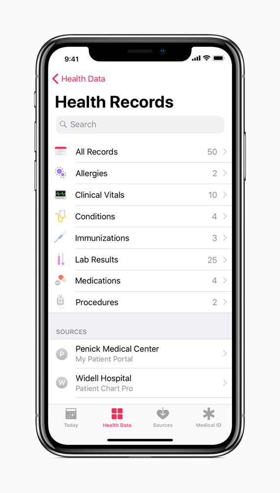 Apple announces solution bringing health records to iPhone - Apple