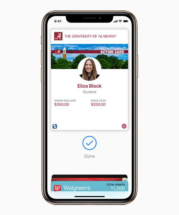 Apple adds support for contactless student ID cards in Wallet - Apple