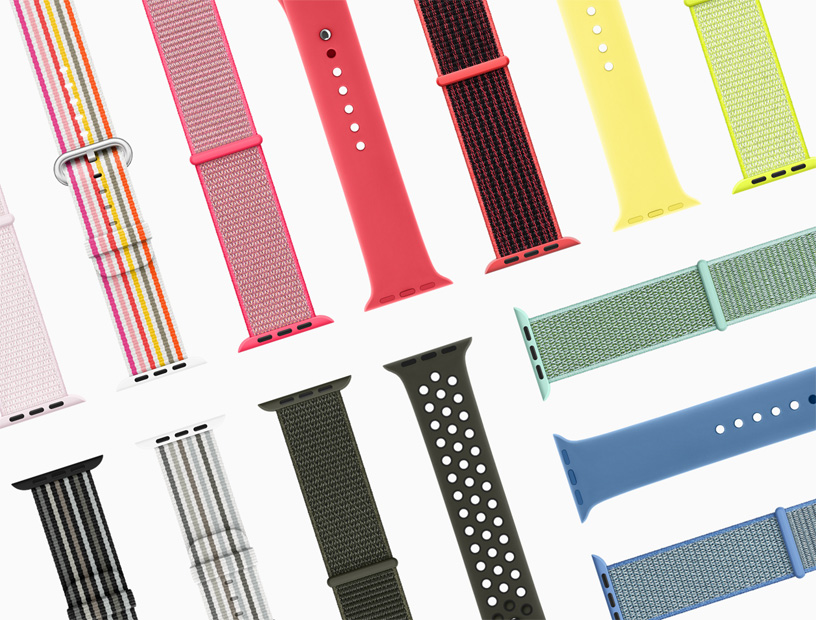 New Apple Watch Bands Feature Spring Colors And Styles Apple