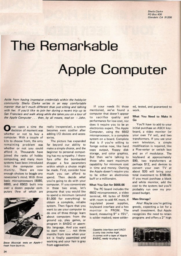 the Remarkable Apple Computer - 1