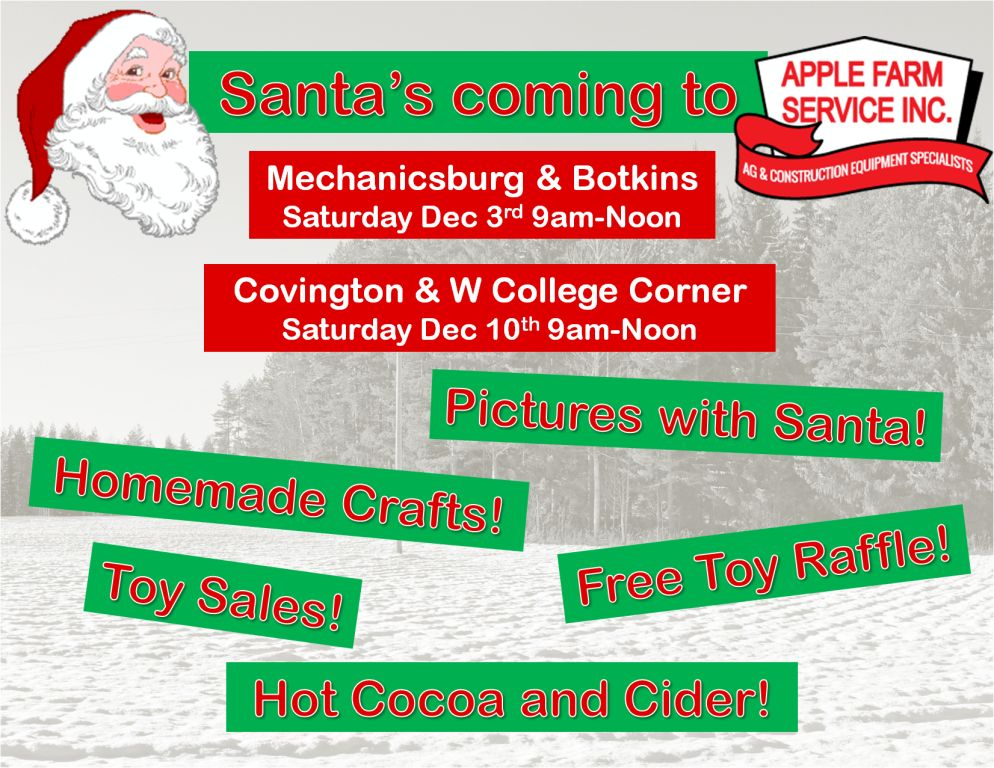 Santa\u0027s Visiting Covington Apple Farm Service Inc