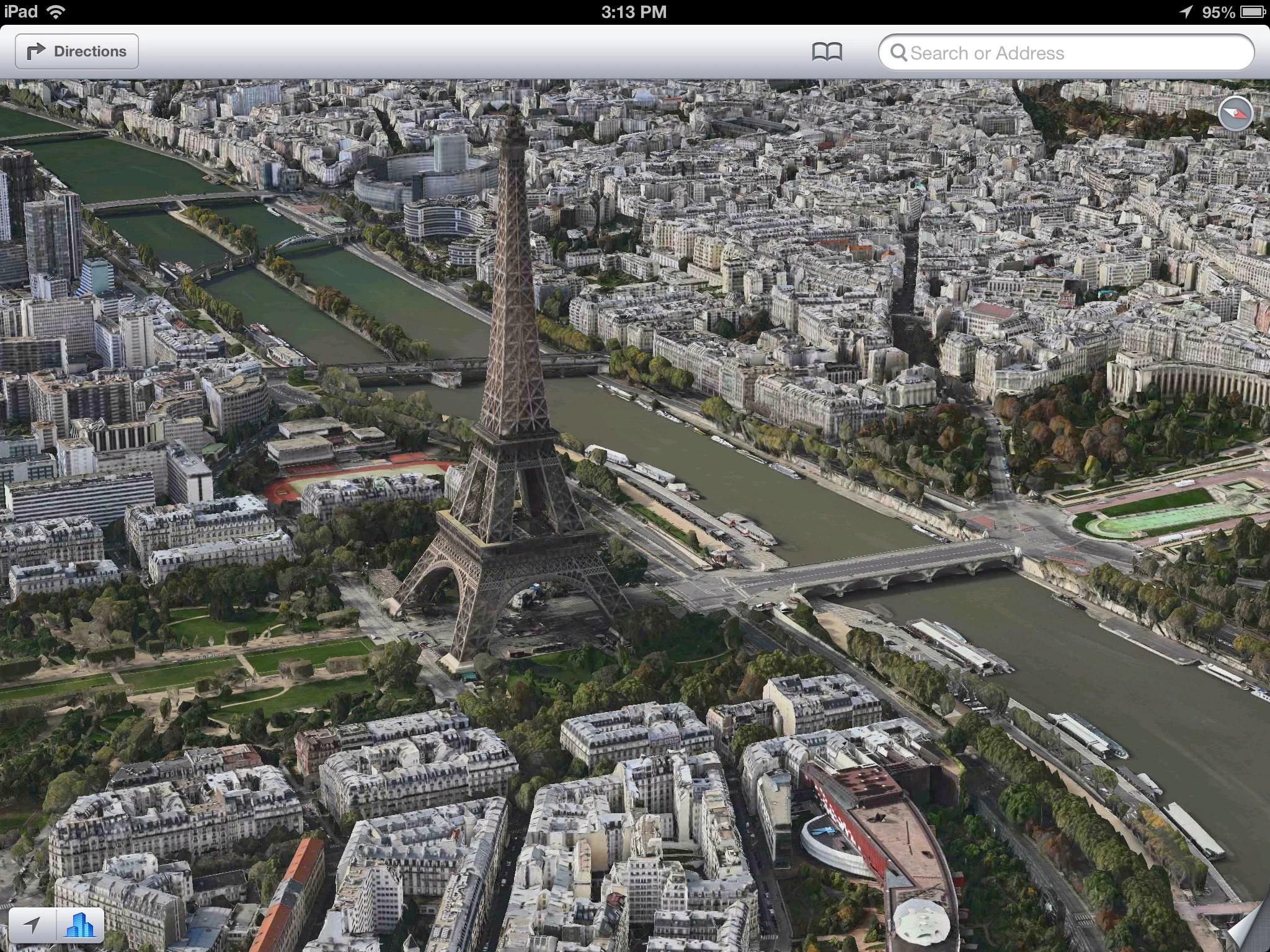 Best 3d Wallpaper Download App 3d Paris Added To Apple Maps Apple Gazette