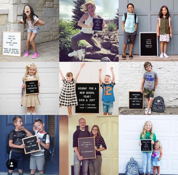 Letterfolk Back to School Photos