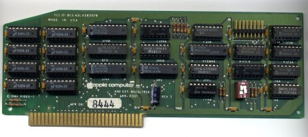 Apple IIe Extended 80-Column RGB Card