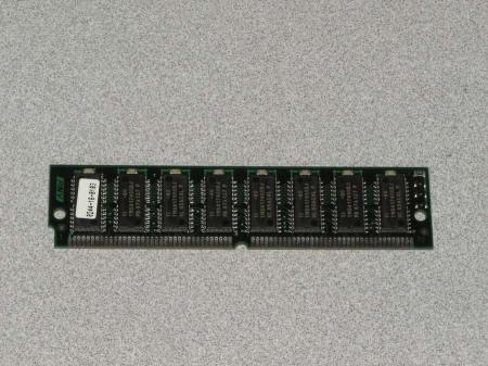 72-Pin Memory SIMM Module