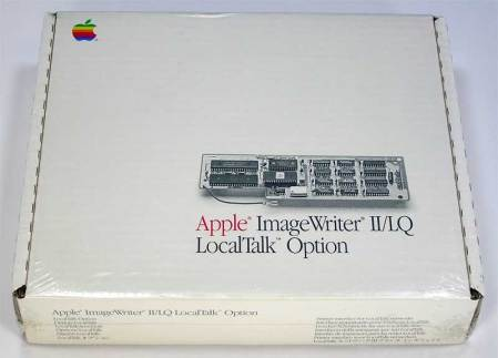 Apple ImageWriter II / LQ LocalTalk AppleTalk Option