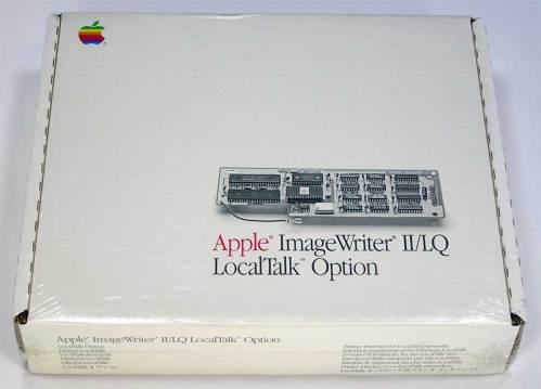 Apple ImageWriter II/LQ LocalTalk Option