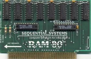 Ram 80 (1984) Apple IIe