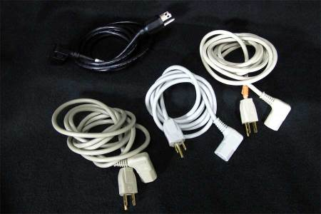 Angled or L Power Cable
