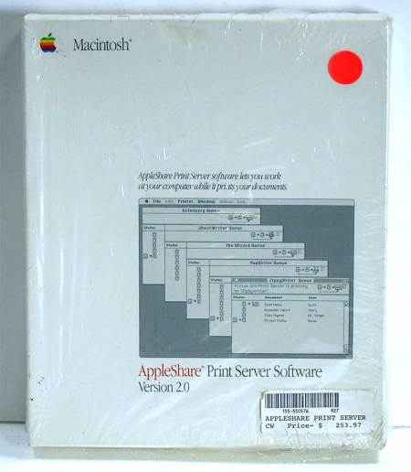 AppleShare Print Server Software V2.0