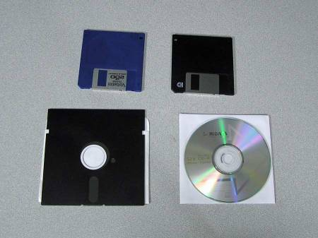 System or Software on Disks