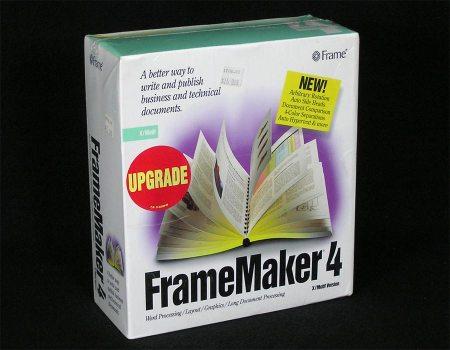 FrameMaker 4 Upgrade X/Motif