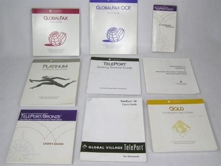 Global Village Teleport Modem Manuals