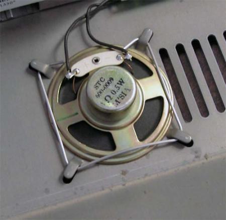 Apple IIe Speaker Fastener