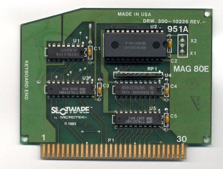Mag 80E Slotware 80 Column Card