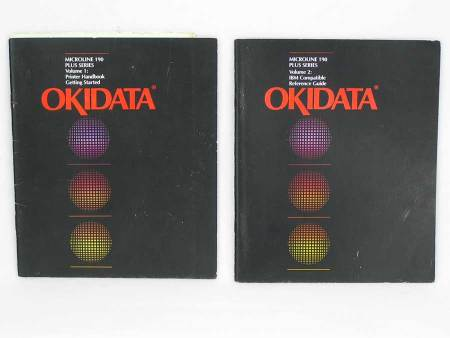 Okidata Microline 190 Plus Series Printer Manuals