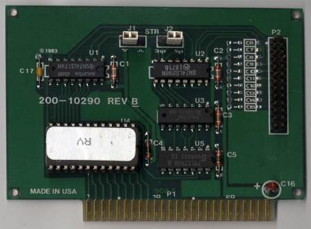 Parallel Printer Card for the Apple II