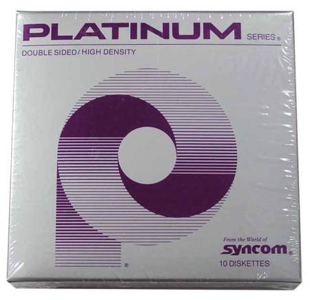 Platinum DS HD 5.25″ 1.2MB Floppy Disks (10 Pack)