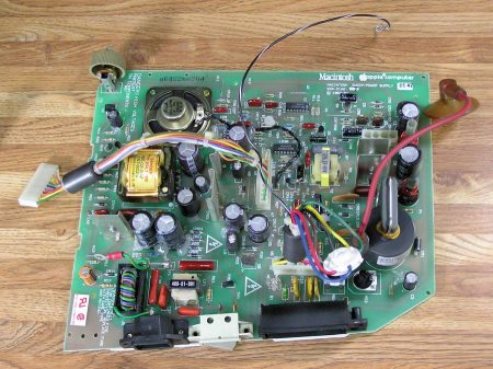 Macintosh 128K 512K Plus Power Sweep Board