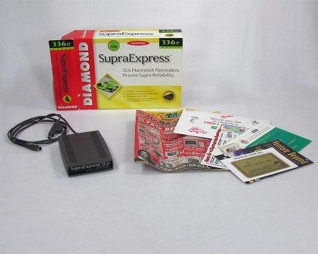 Supra Express 336e External Fax Modem (Serial)