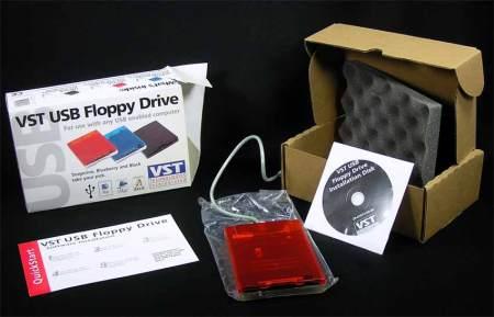 VST USB Floppy Drive ~ Tangerine