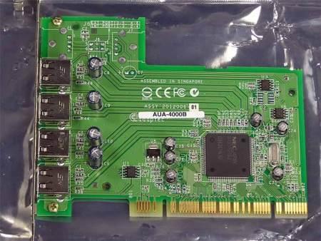 Adaptec 4 Port USB 2.0 PCI Card