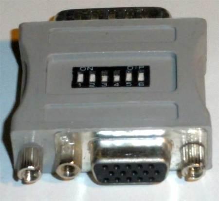 VGA Monitor to Mac Adapter (Model 1)