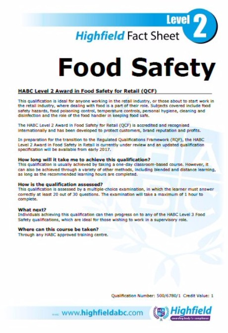 food safety level 2 answers - Jolivibramusic