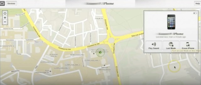 Use Find My iPhone - Phone