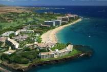 Ka`anapali Beach Hotel Aerial