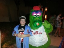 "The Phanatic with a young ""Phan"""