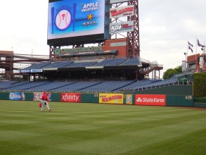 Phillies 101 learning event, hosted by the Philadelphia Phillies players, coaches and staff