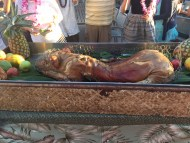 Drums of the Pacific Luau (Maui): No luau would be complete without a proper pig roast
