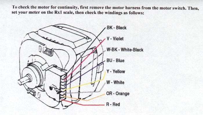 Washer Motor Wiring Diagram Electronic Schematics collections