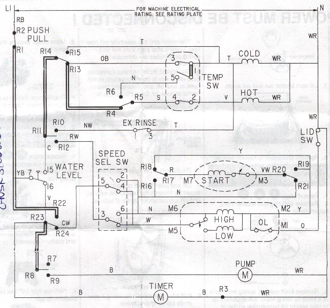 Electric Washing Machine Wiring Installation Wiring Diagram