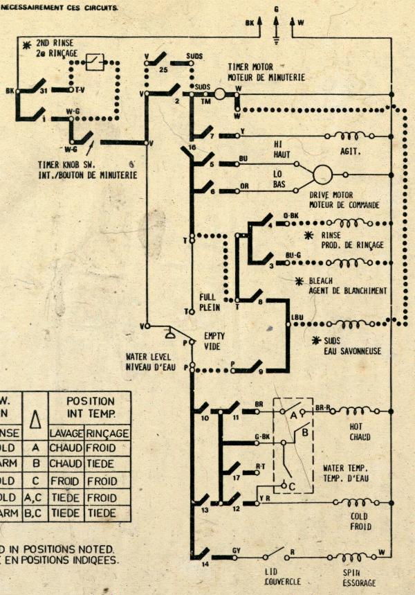 Washer Wire Diagram Wiring Diagram